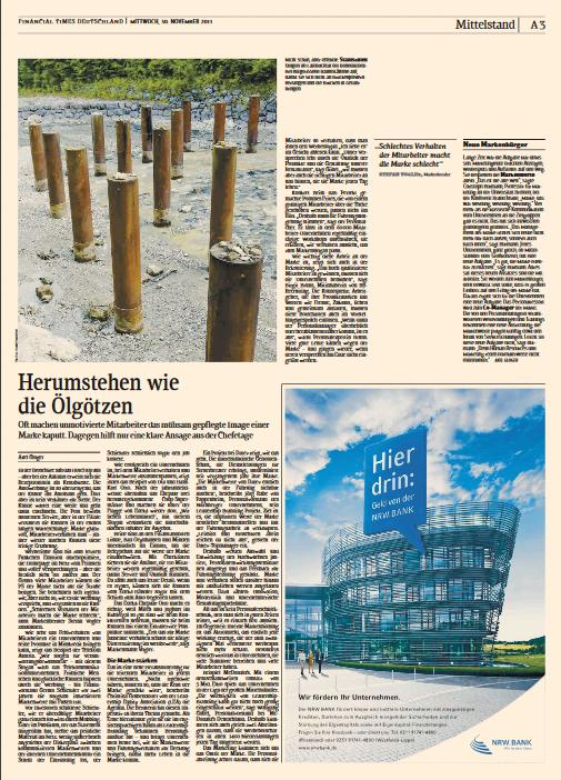 Employer Branding Financial Times Deutschland BBRecruiting Personalberatung
