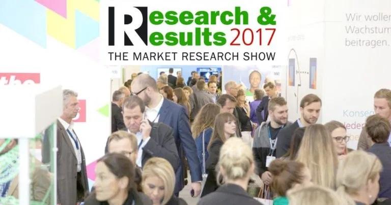 Marktforschungsmesse Research&Results 2017: BBRecruiting vor Ort in München