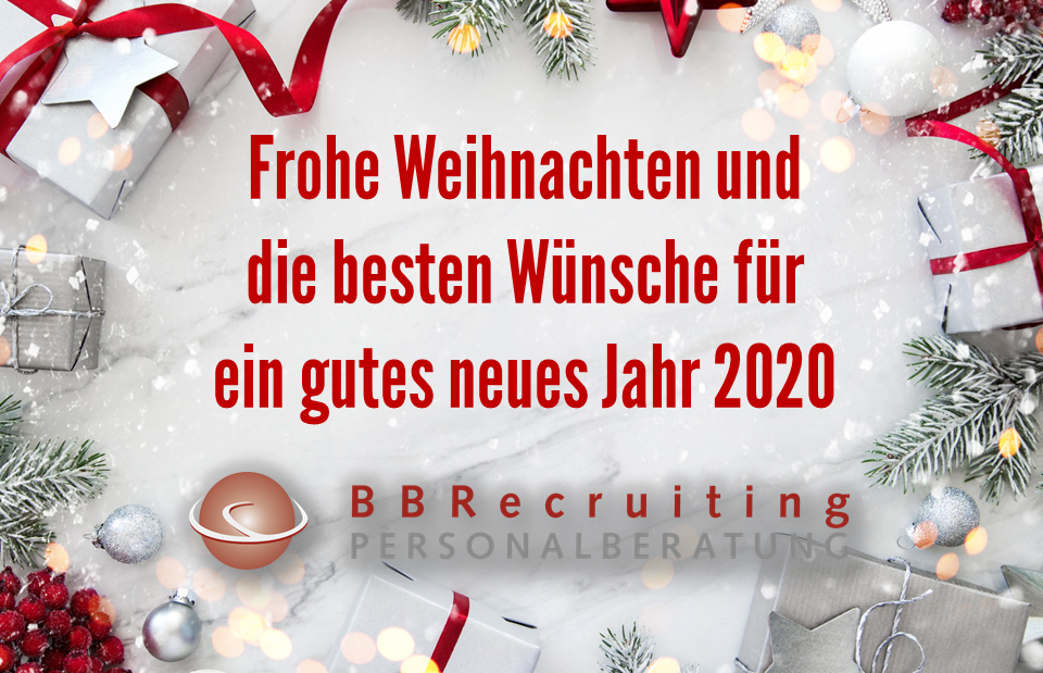 Frohe Weihnachten BBRecruiting Personalberatung
