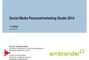 BBRecruiting_Social Media PersonalmarketingStudie2014