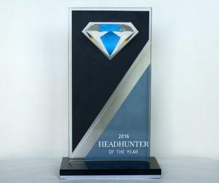Auszeichnungen von BBRecruiting Personalberatung - Headhunter of the Year 2016