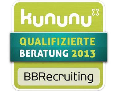 Kununu Auszeichnungen von BBRecruiting Personalberatung